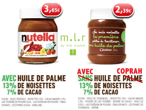 p te tartiner casino peut il pr tendre tre meilleur que nutella my little recettes. Black Bedroom Furniture Sets. Home Design Ideas