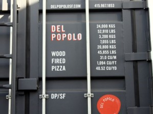 Food Truck, Del Popolo Pizza Truck