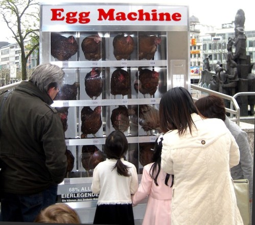 Egg machine