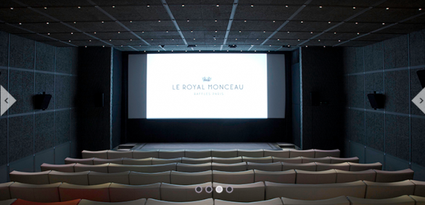 Sunday Night Film Club au Royal Monceau