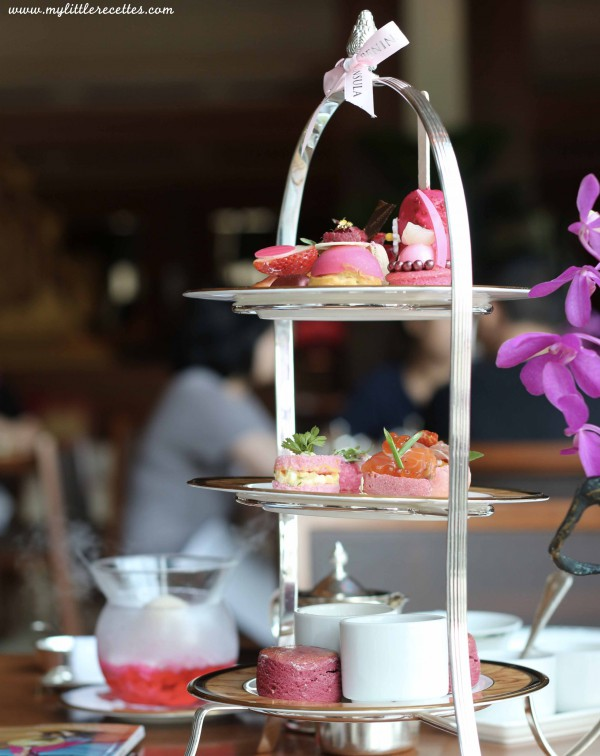 L'afternoon pink tea-time d'Olivier Paris