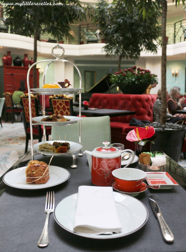 L'Afernoon tea vegan du Shangri-La Paris