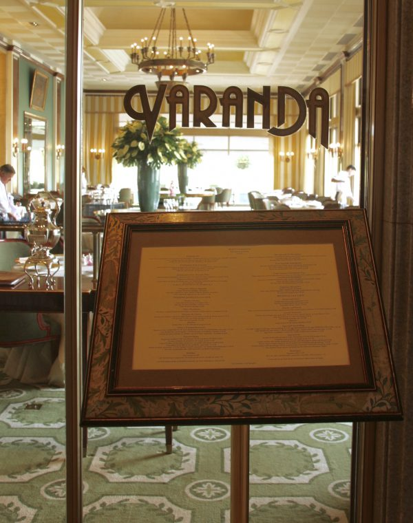 Restaurant, Varanda au Four Seasons Hotel Ritz Lisbonne