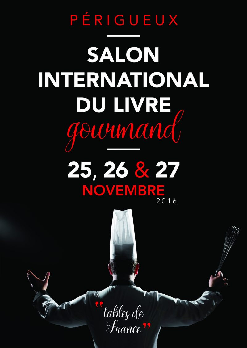 Le Salon International du Livre Gourmand