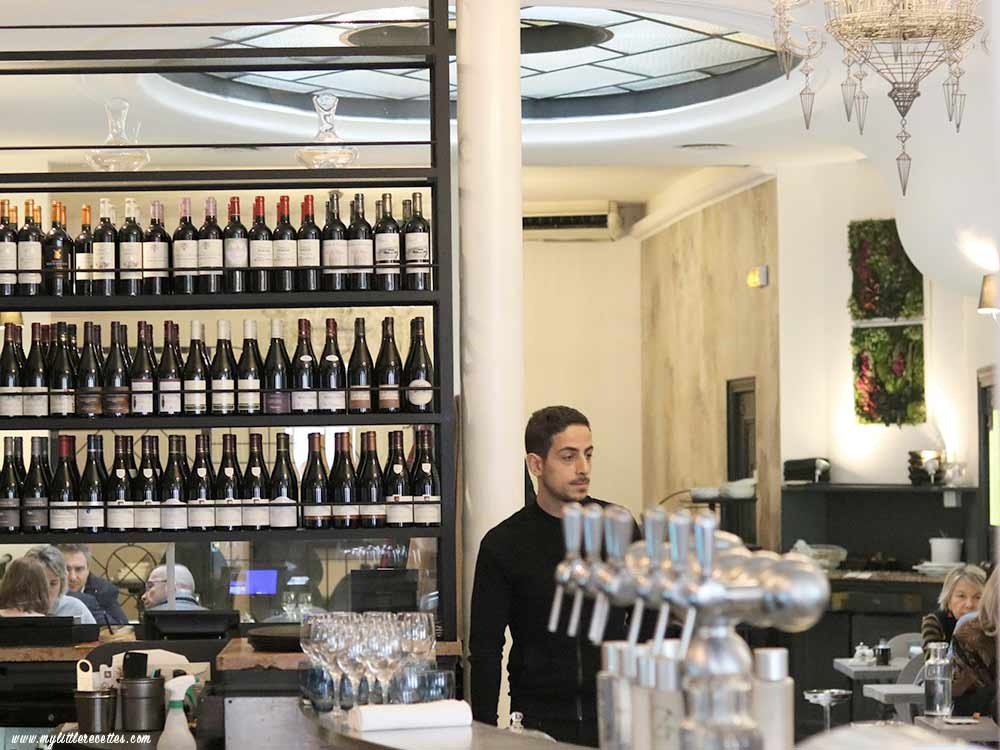 Restaurant, AG Les Halles du Chef Alan Geaam