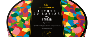 Must eat la box anniversaire Sushi Shop & Caviar Sturia