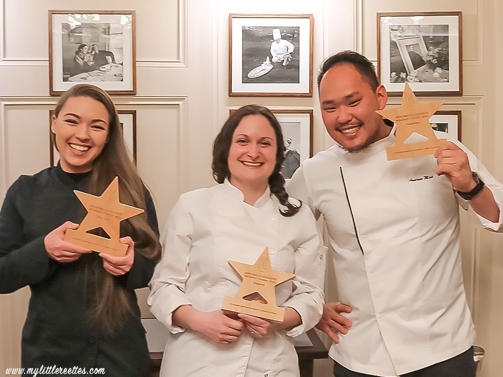 concours Espoirs Culinaires MGallery, les gagnants