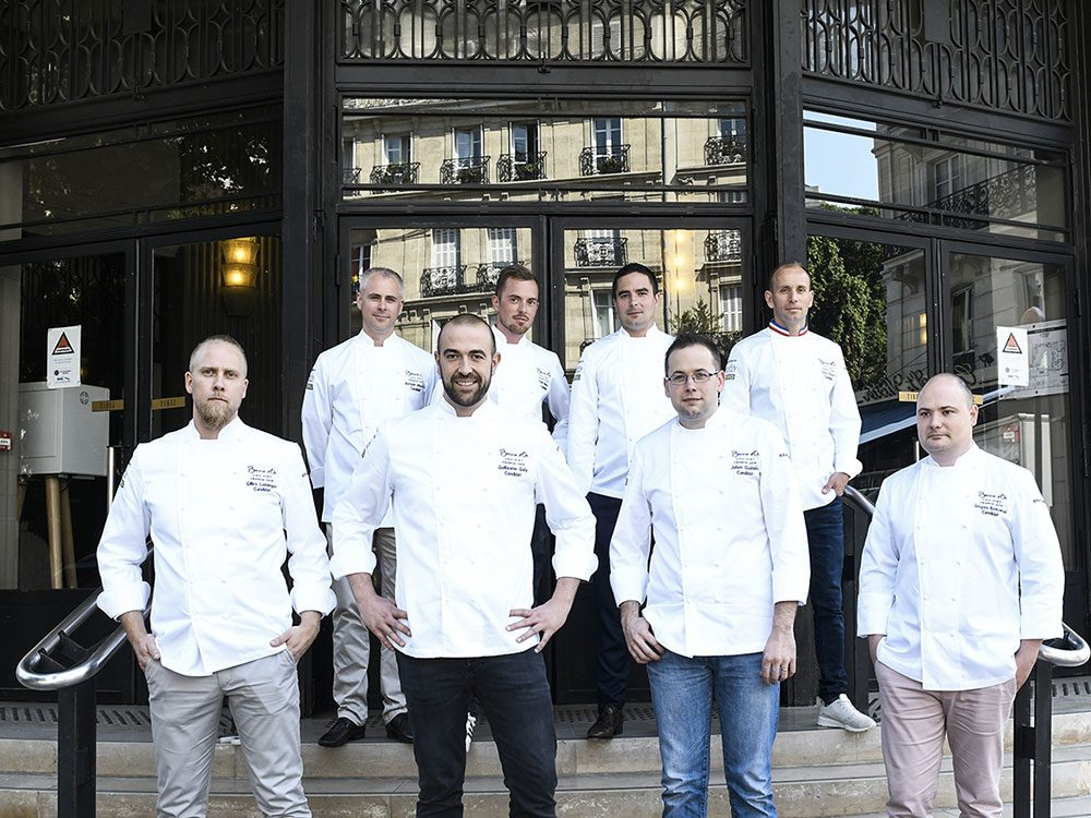 Les 8 finalistes de la sélection France du Bocuse d'Or 2021